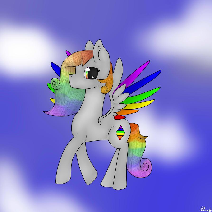 Rainbowcrystal (with Speedpaint) by Lakomoraby