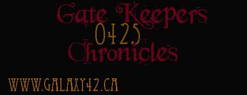 Gate keeper chronicle by MyXdarkXintentions