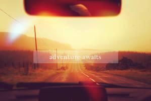 adventure awaits by loLO-o