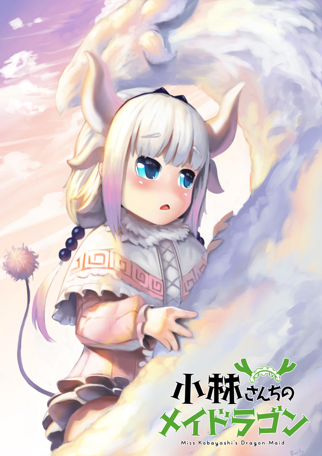 Kanna : Maid Dragon Fanart by EvilsmiLeStudio on DeviantArt