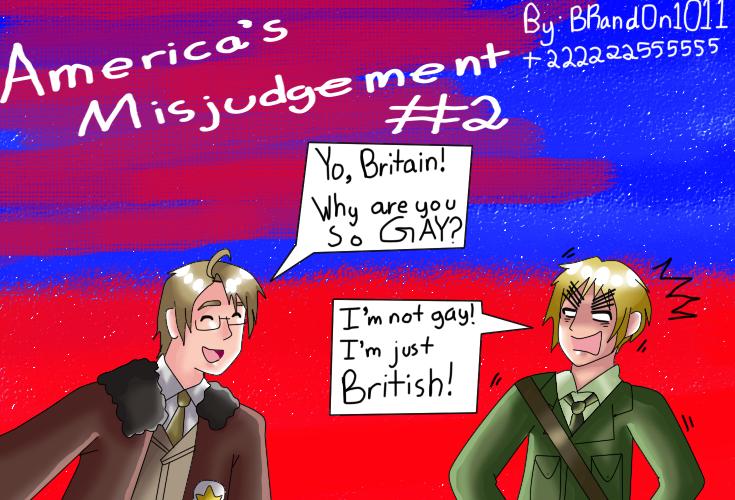 America's Misjudgement 2 by 222222555555