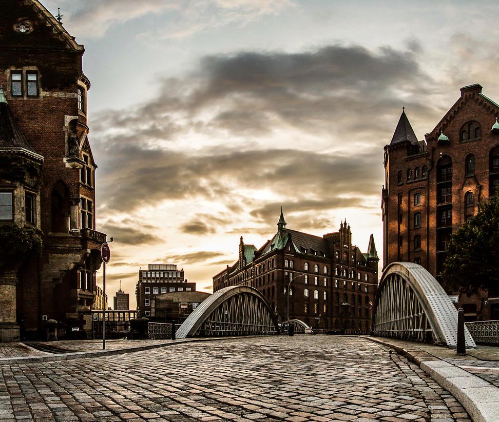 Hamburg Speicherstadt by Meduana
