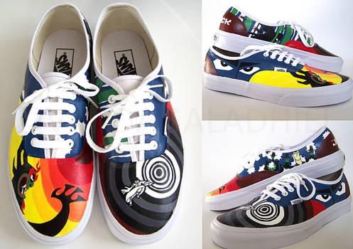 Samurai Jack shoe commission