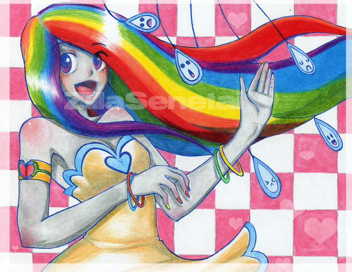 Happy Rainbow lovelove funTime by WitchZilla