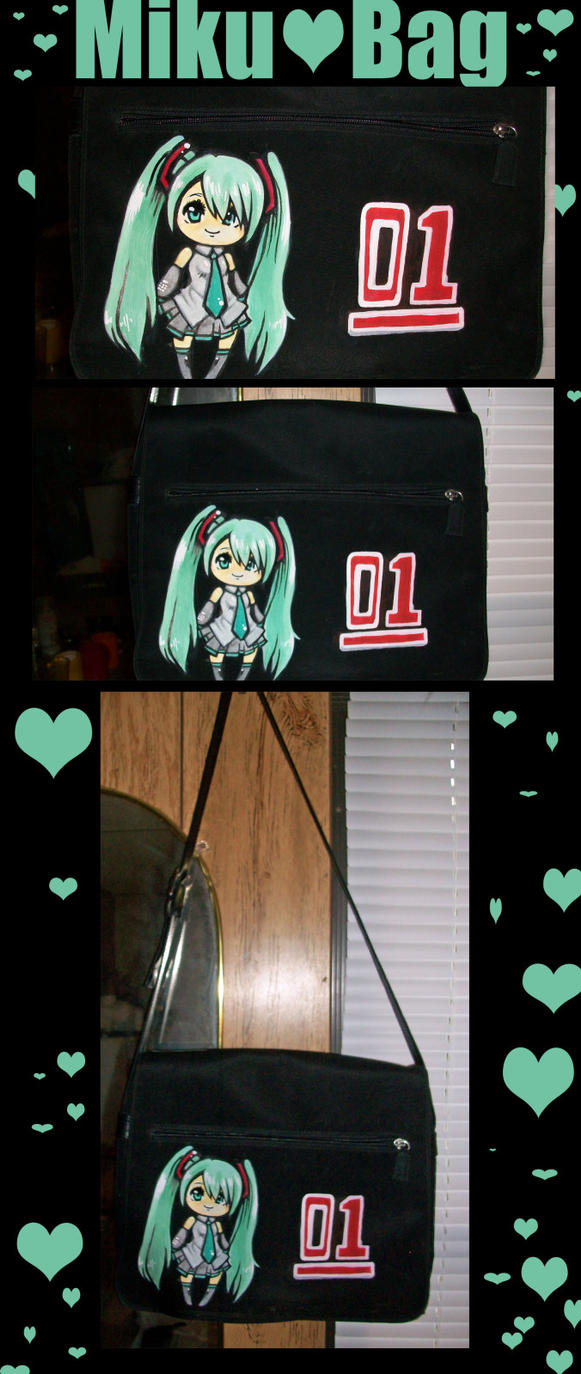 Miku Hatsune Bag by ProfessionalN00b
