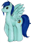 Me, ponified. Drawn by a good friend of mine.