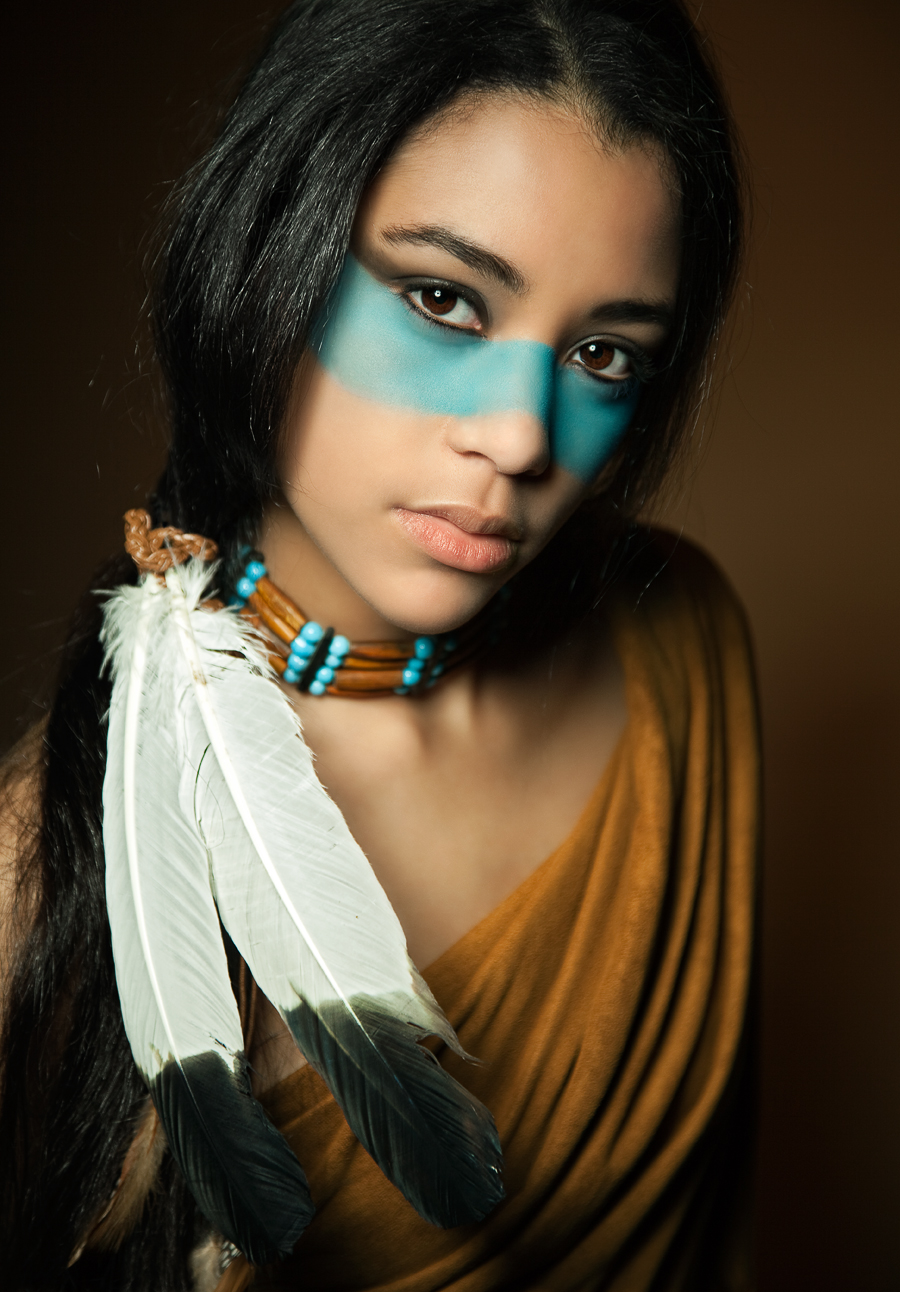 Beautiful native american women all became