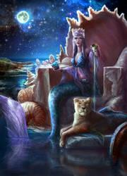 Queen Of Cups by elsbro
