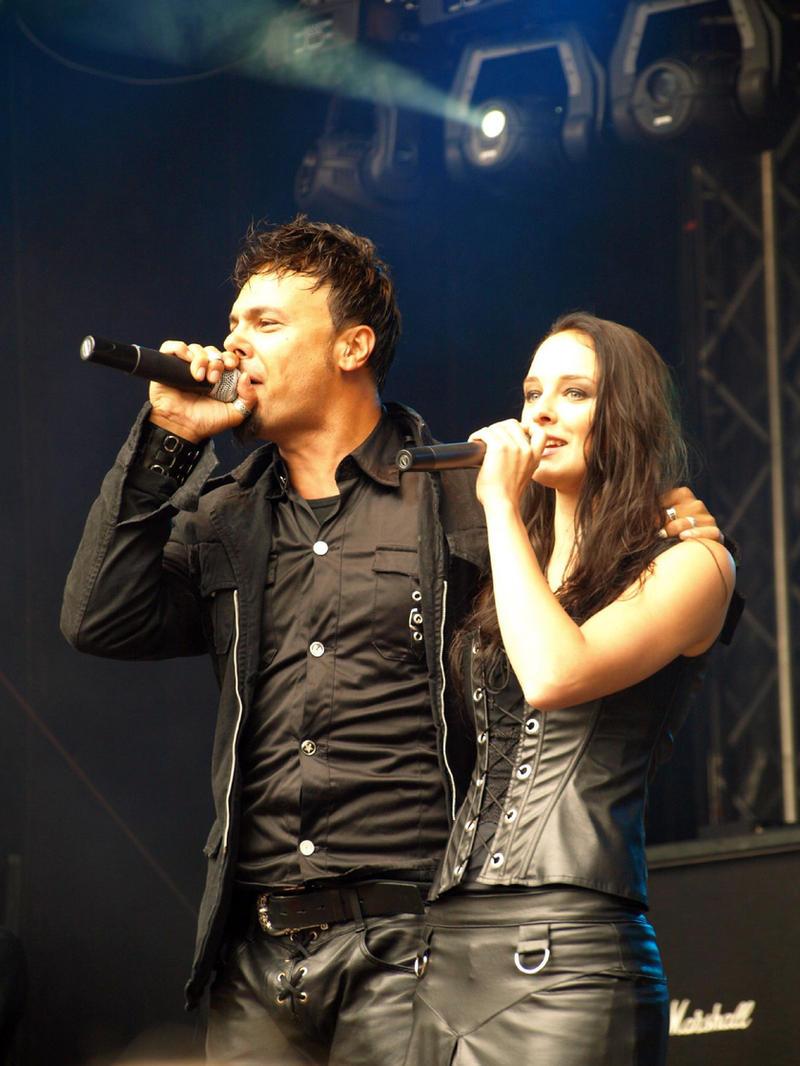 ... Kamelot - Roy Khan and Anne-Catrin Maerzke by Jaraid
