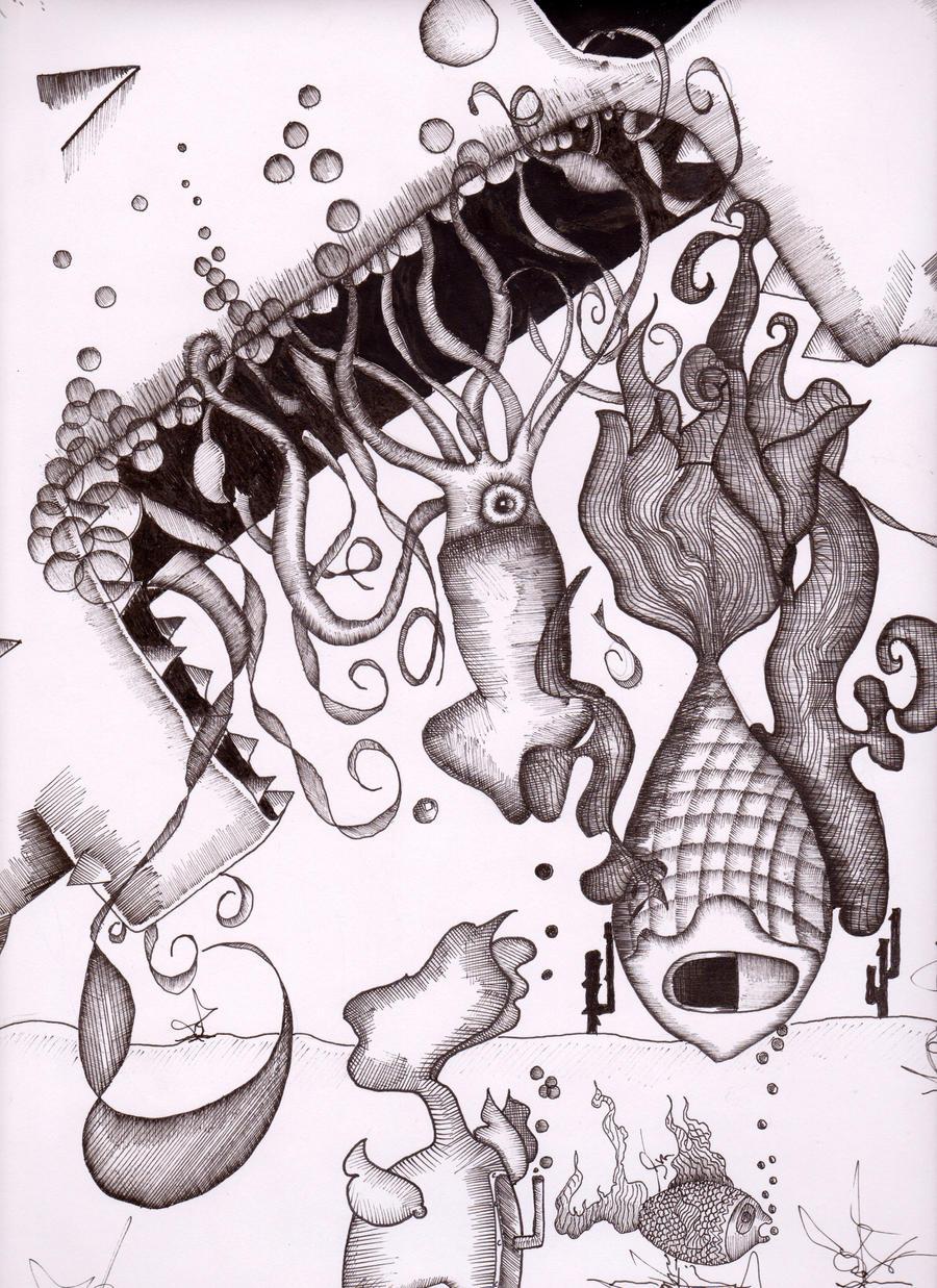 Sea Sick by TarlKuhn