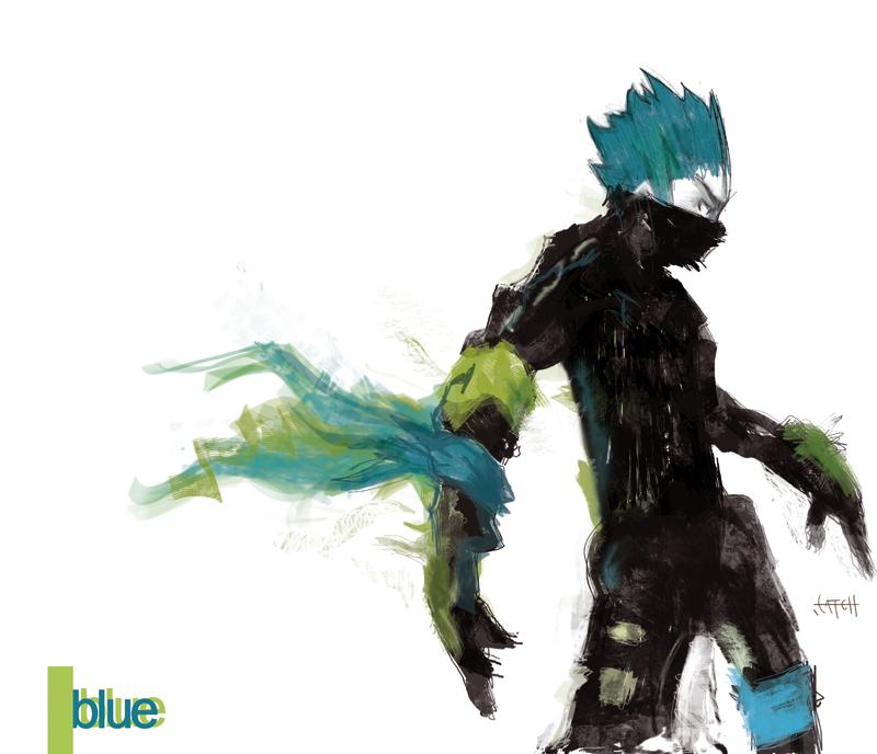 Blue by deaddeepeyes
