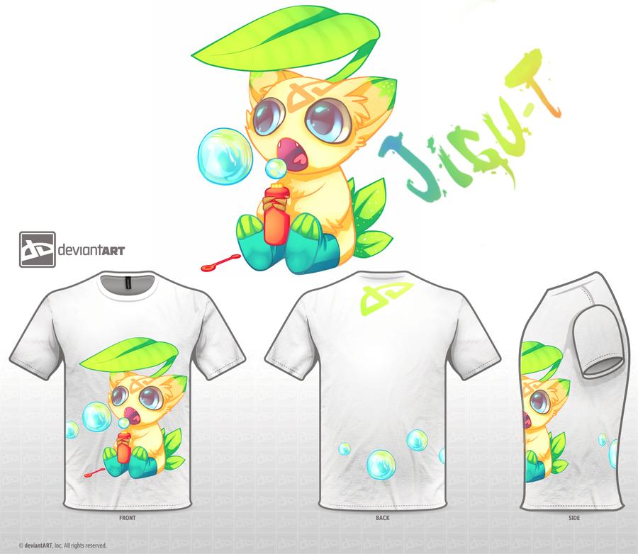 Cute Monsters Design challenge - Jigu T by Opeiaa