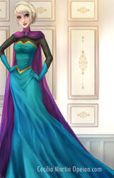 Old Painting - Elsa by Opeiaa