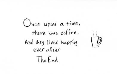 a short coffee story