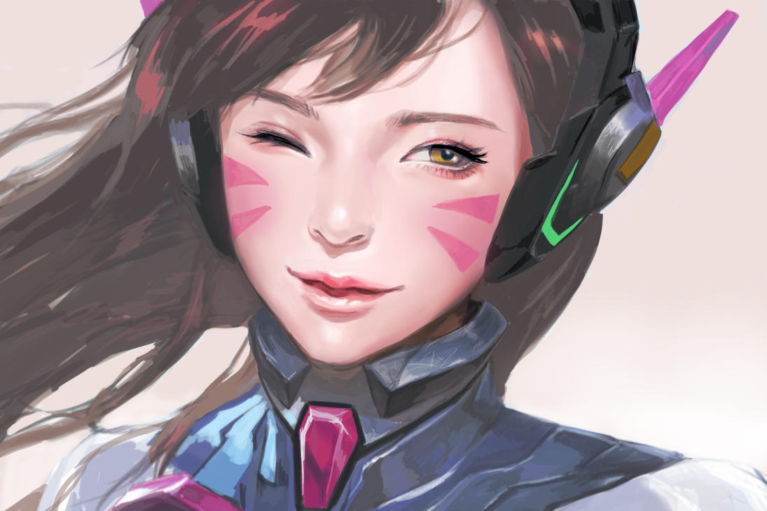 overwatch D.VA by Barksal
