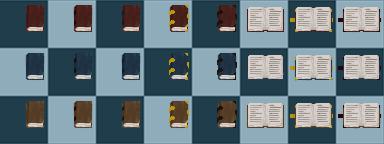 Tileset - Book by SeltSoma