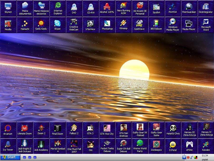 Muro Lightning's Desktop by MuroLightning