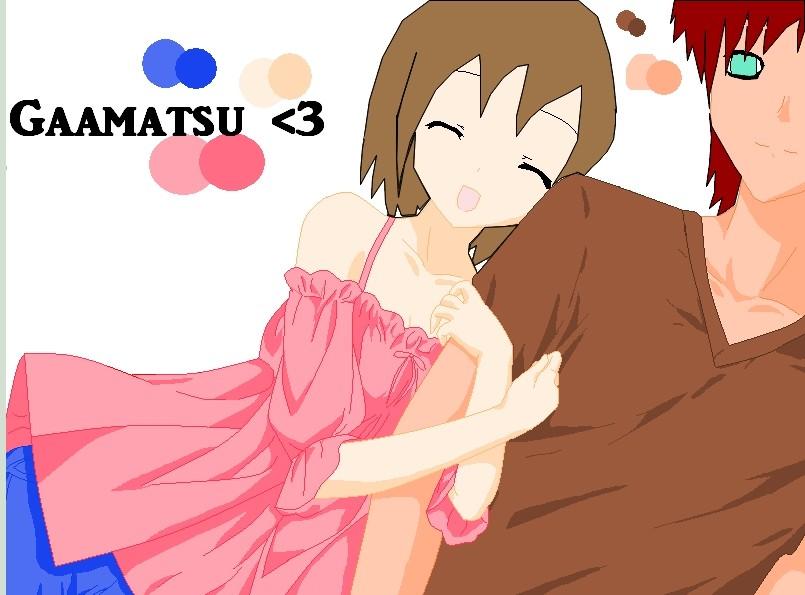 Gaara and Matsuri by Matsu-sama on DeviantArt Gaara And Matsuri Kiss