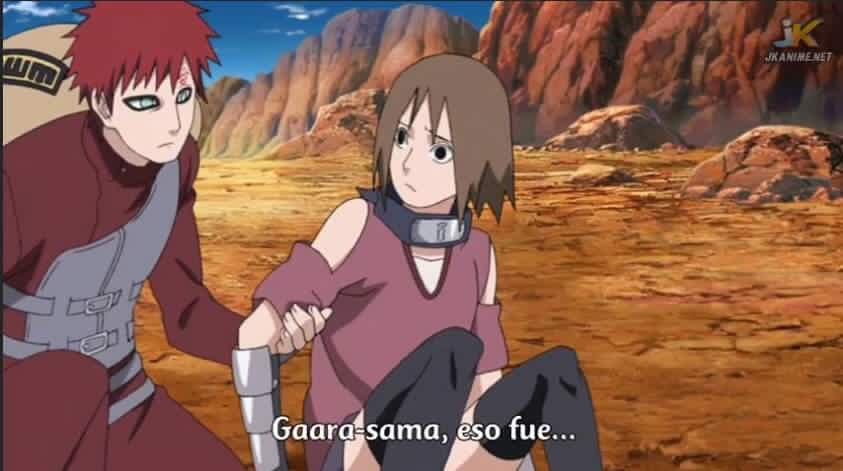Gaara and matsuri moments