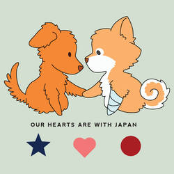 Hearts with Japan