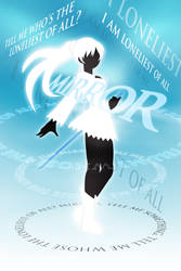RWBY Mirror Mirror Typography Poster Weiss
