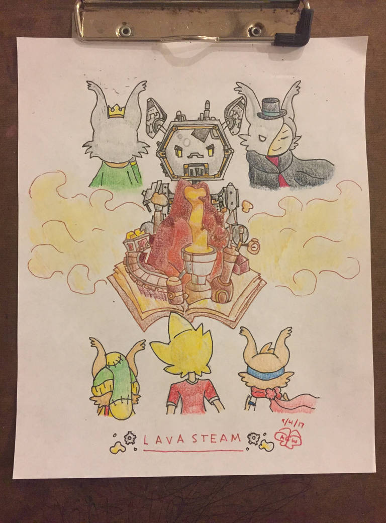 Contest Submission: Lavasteam by circifox