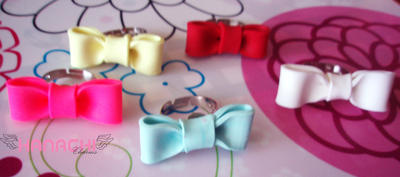 ribbon rings by Hanachi-bj