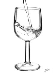 Glass Of Water by MarcusPeyre