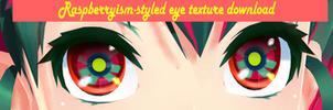 Raspberrysim-styled eye texture download