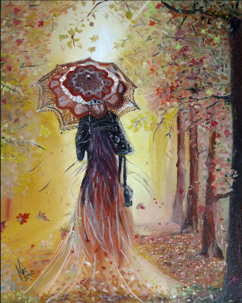 Be my autumn - Reproduction by sedivyk