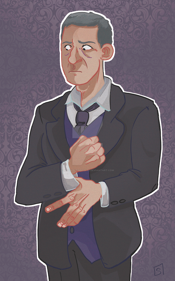 Alfred by MuddleofDoodlez