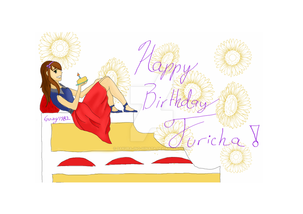 Happy Birthday Juricha! by sakura-ino-hinata