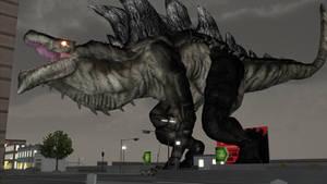 Godzilla 1998 MMD + DL by ASousaPro