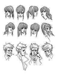 John and Epiphany expressions by synthezoide