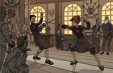 Constance and Egerton fencing by synthezoide