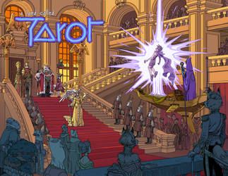 A land called Tarot by synthezoide