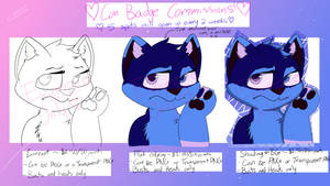 BADGE COMMISSIONS OPEN!! (Look in description) by FluffyPinkandBlue