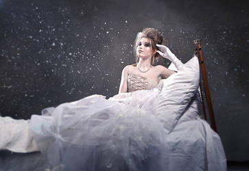 Winter queen by AnastasiaOsipova