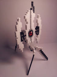 Hama Portal Turret Activated by Retr8bit