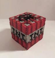 Minecraft Hama TNT Block by Retr8bit