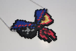 Hama Senketsu Necklace by Retr8bit