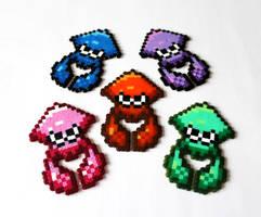 Let the Turf Wars, Begin! - Splatoon Squid by Retr8bit