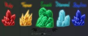 Pentakis Gemstones Reference
