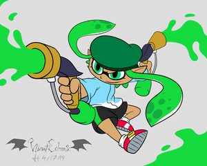 Comm - Green Ink