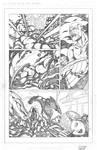Captain America vs Thanos 1 of 3 PENCILS