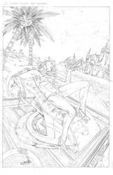 Hard Wyred - Miranda Commission PENCILS by ZUCCO-ART