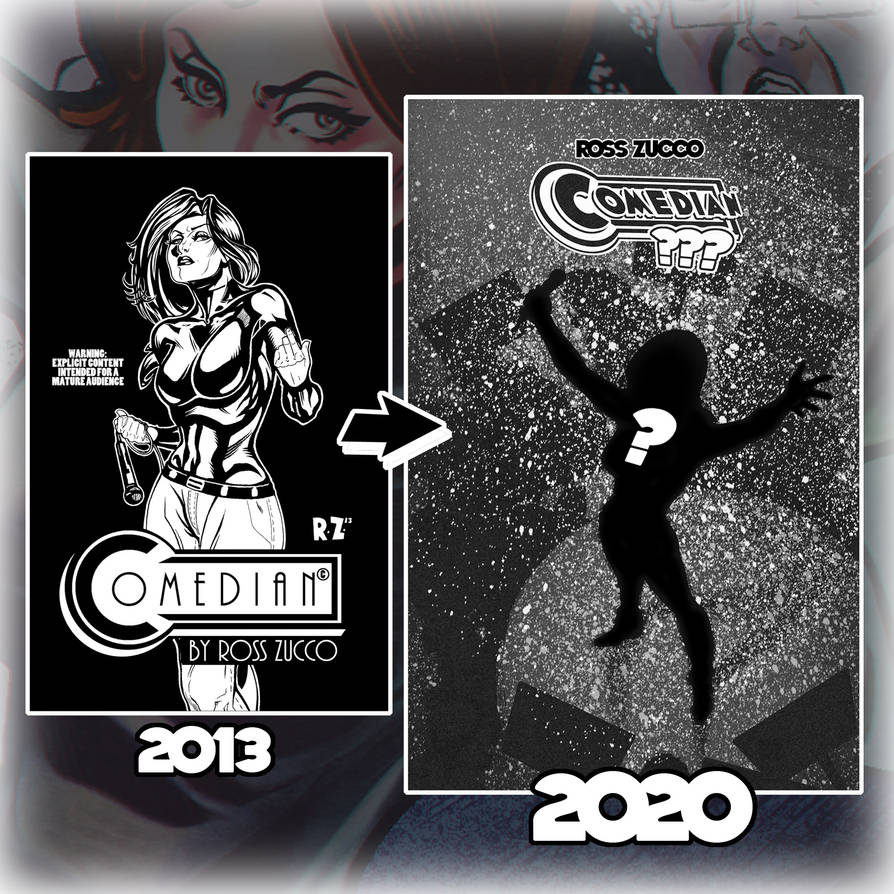Comedian anniversary ad flat 2020 by ZUCCO-ART