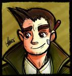 Ace Attorney - Dick Gumshoe by MereldenWinter