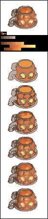Pixels from the golden sun (5/10) - Lab marmite by Sairmeroc