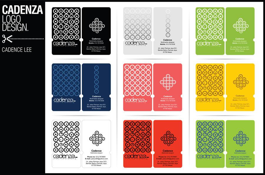 Cadenza Name Card Design 02 By Iamcadence On DeviantART